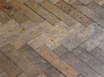 Pine Woodblock Herringbone